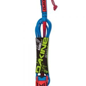 DAKINE – KAINUI TEAM 8′ X 1/4″ SURF LEASH (Racing Red)