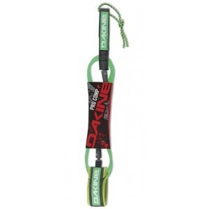 DAKINE – GROMCOMP 5′ X 3/16″ SURF LEASH (Neon Green)