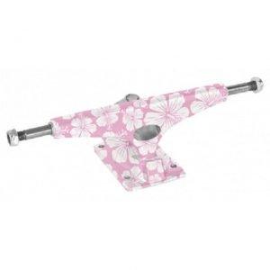 Krux trucks pink flowers, size 8,0