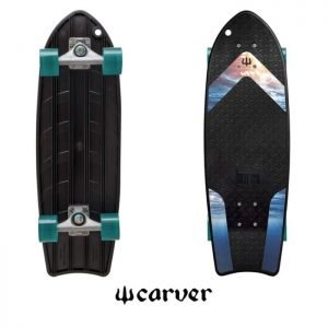 Carver CX Mini Raw 27″ Bureo Ahi Surfskate